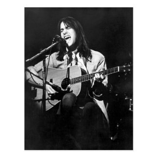 DF en la postal 1974 del concierto