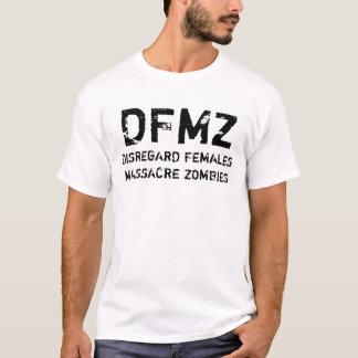 DFMZ, CAMISETA DE LOS ZOMBIS DE LA MASACRE DE LAS