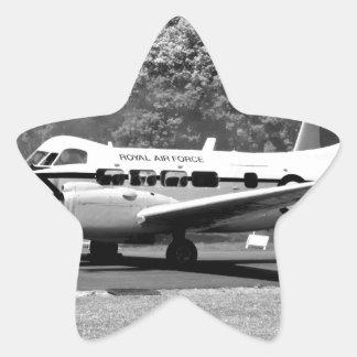 DH-104 Devon Pegatina En Forma De Estrella