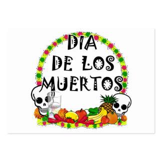 Dia 2010 De Los Muertos Tarjetas Personales