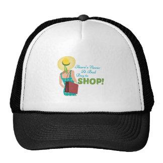 Día a hacer compras gorra
