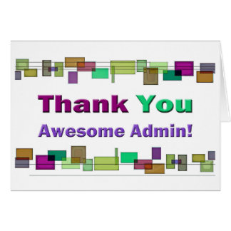 Día administrativo Admin impresionante de los prof Felicitación