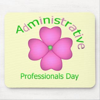Día administrativo de los profesionales del arte d alfombrillas de raton