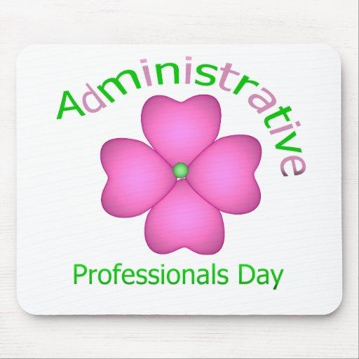 Día administrativo de los profesionales del arte d alfombrilla de ratones