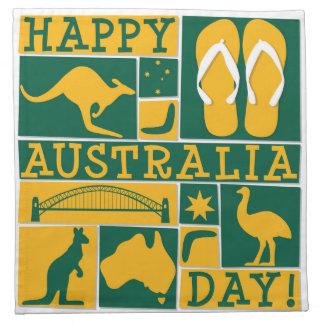 Día de Australia Servilletas
