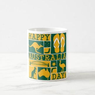 Día de Australia Taza De Café