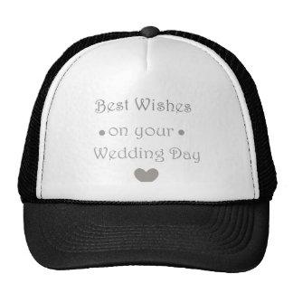 Día de boda de Bestwishes Gorro