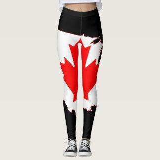 Día de Canadá Leggings