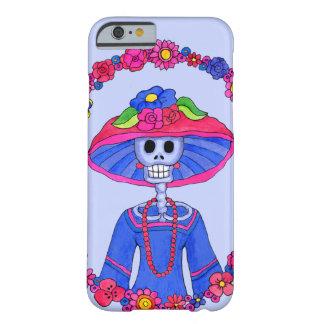 Día de caso muerto del iPhone de Catrina Adela Funda Barely There iPhone 6