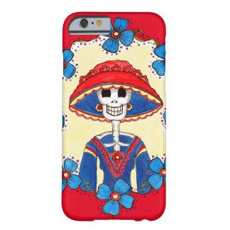 Día de caso muerto del iPhone de Catrina Funda Barely There iPhone 6