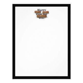 Día de crepe feliz folleto 21,6 x 28 cm