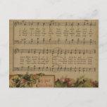 Día de fiesta de la hoja de música del navidad del
