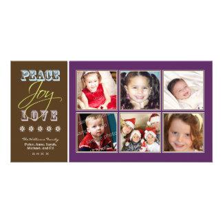 Día de fiesta Photocard de la familia del Paz-Aleg Tarjeta Fotográfica