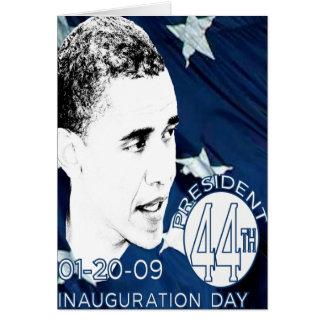 Día de inauguración felicitacion