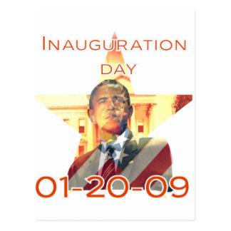 Día de inauguración tarjetas postales