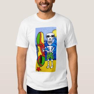 Día de la camiseta muerta de la persona que