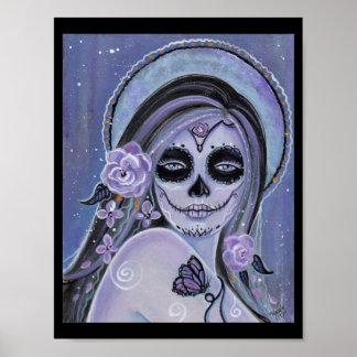 Día de la impresión muerta del poster de Renee