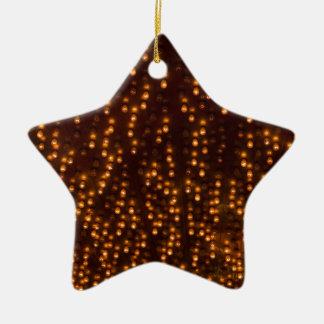 Día de la Independencia brillante de las luces del Adorno De Cerámica En Forma De Estrella