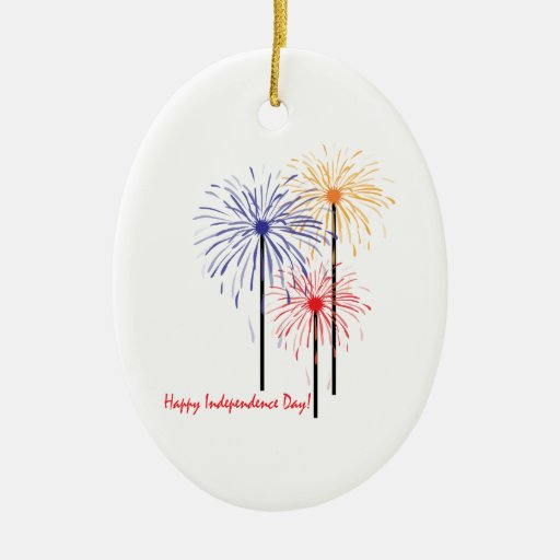 ¡Día de la Independencia feliz! Adorno Para Reyes