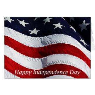Día de la Independencia feliz el 4 de julio Tarjeta