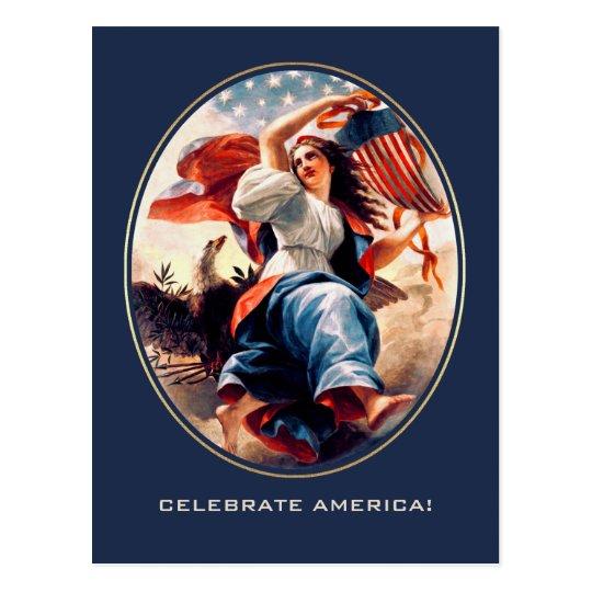 Día de la Independencia. Postales del