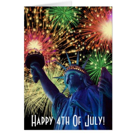 ¡Día de la Independencia! Tarjeta De Felicitación