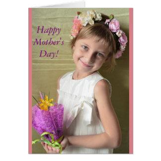 ¡Día de la madre feliz! Tarjeta De Felicitación