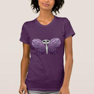 Día de la mariposa del diseño muerto camiseta