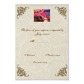 Día de la serenata de RSVP que se casa muerto Invitación 8,9 X 12,7 Cm