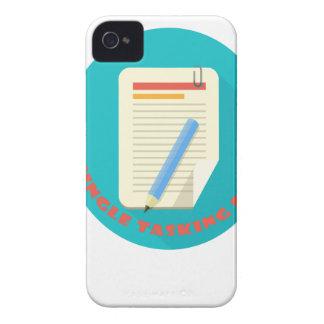 Día de la sola asignación - día del aprecio carcasa para iPhone 4 de Case-Mate