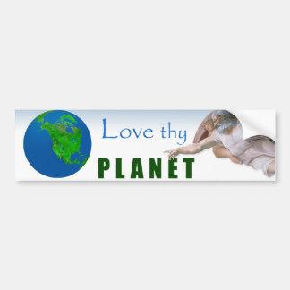 Día de la Tierra - ame Thy planeta Pegatina Para Coche