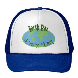 Día de la Tierra cada casquillo del día Gorros