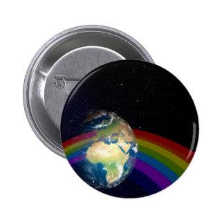 Día de la Tierra Chapa Redonda De 5 Cm