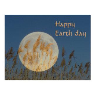 Día de la Tierra feliz Postal