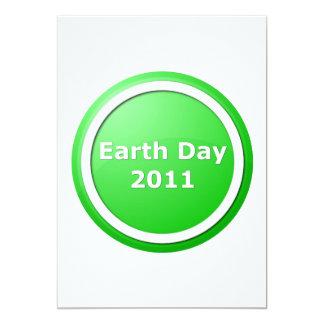 Día de la Tierra Invitación 12,7 X 17,8 Cm