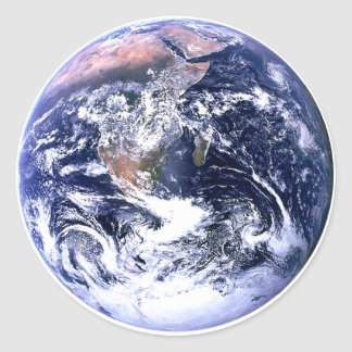 Día de la Tierra los regalos de Zazzle del MUSEO Pegatina Redonda