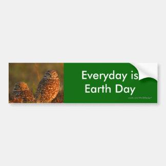 Día de la Tierra Pegatina Para Coche