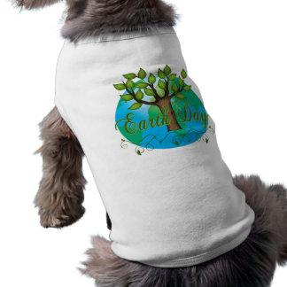 Día de la Tierra Ropa Perro