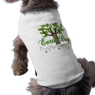 Día de la Tierra Ropa De Perros