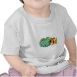 Día de la Tierra y calabaza Camisetas