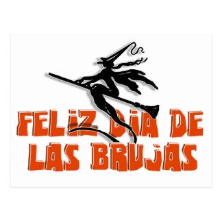 Dia de Las Brujas Postal