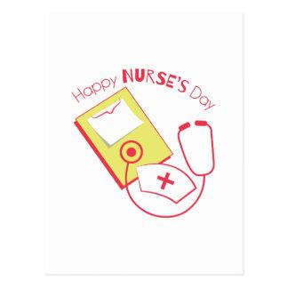 Día de las enfermeras postal