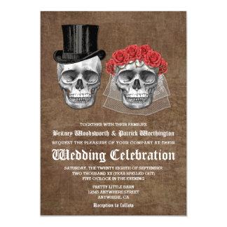 Día de las invitaciones muertas del boda de los