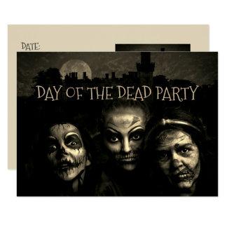 Día de las invitaciones muertas del fiesta
