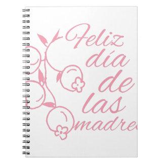 Dia De Las Madres Libreta Espiral
