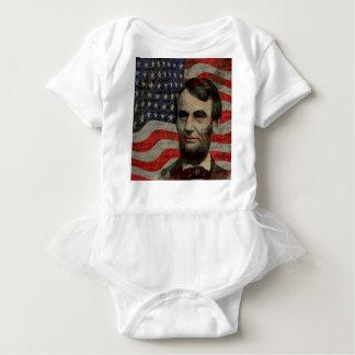 Día de Lincoln Body Para Bebé