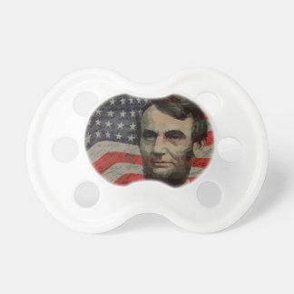 Día de Lincoln Chupetes Para Bebés