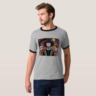 Dia de los Muertos Amigos Camisetas