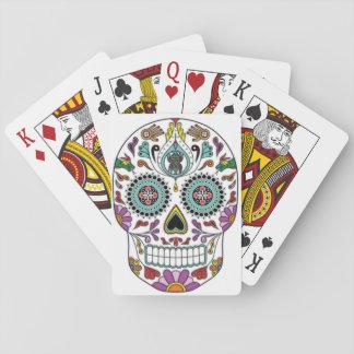 Día de los muertos baraja de cartas
