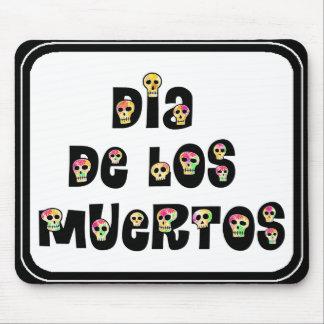 Dia De Los Muertos Calaveras Alfombrillas De Ratones